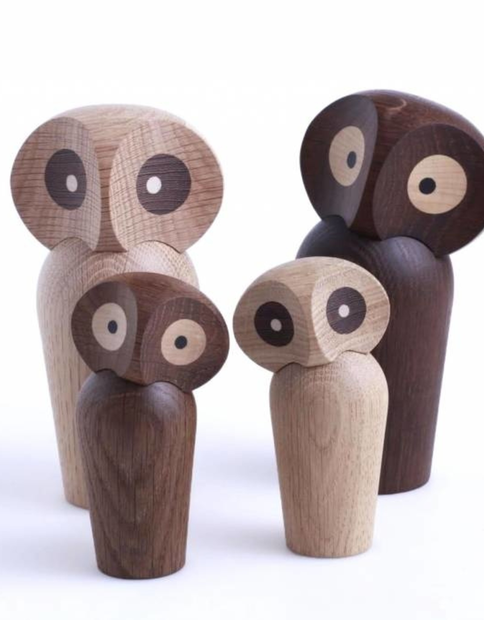 Owl by Paul Anker | Smoked oak | 170mm