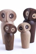 Owl by Paul Anker | Smoked oak | 120mm