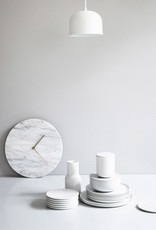 Marble Wall Clock by Norm Architects | White
