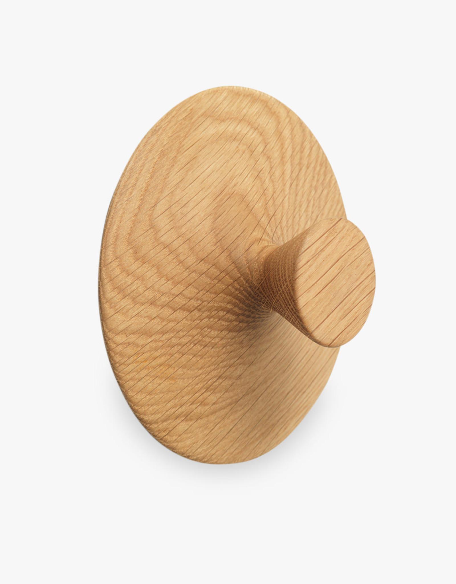 Nipple hook by Hans Sandgren Jakobsen   Oiled oak