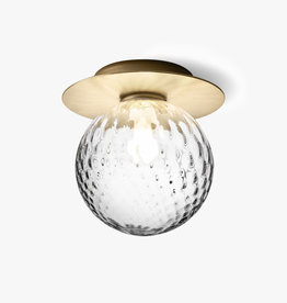 Nuura Liila 1 wall light by Sofie Refer   L   Nordic gold/optic clear