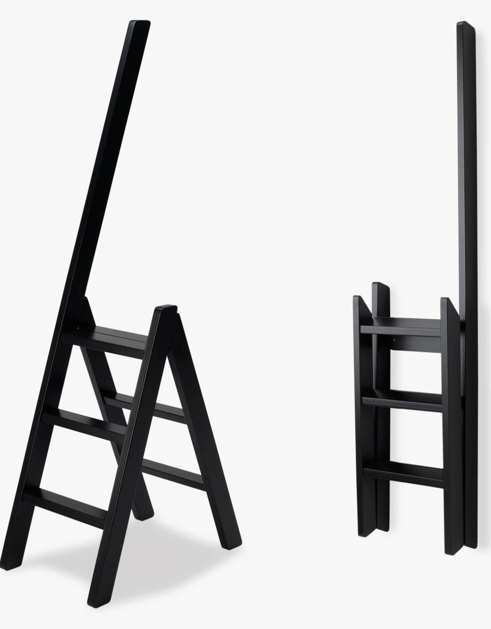Step Ladder by Benedicte and Poul Erik Find | Black