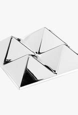 Mirror sculptures by Verner Panton | 4 pyramids | L96cm x W96cm x D27cm