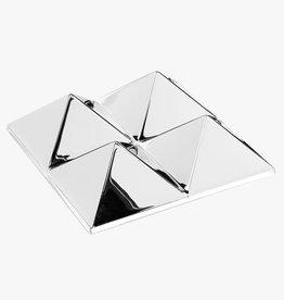Mirror sculptures by Verner Panton | 4 pyramides