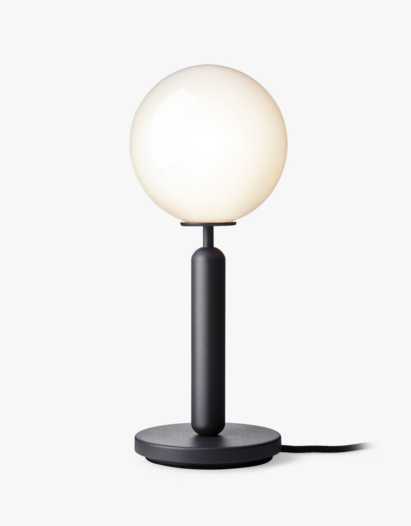 Nuura Miira table light by Sofie Refer | Rock grey/opal white