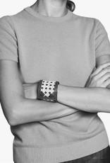 Rattan Bracelet by Palmgrens | Cognac  leather