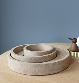 Bowl set of 3 by Mads Johansen | Soaped oak