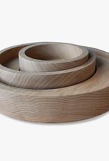 Bowl set of 3 by Mads Johansen | Soaped oak
