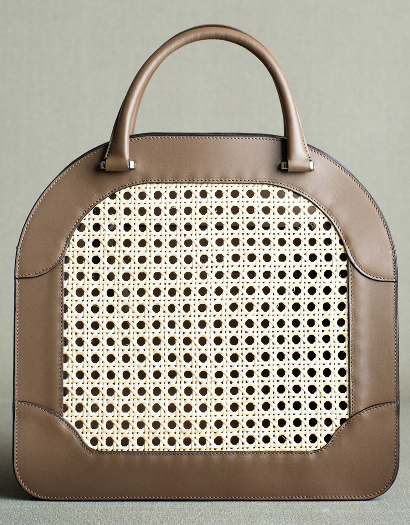 Rattan Bag 125 by Palmgrens | Rock leather