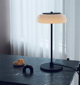Nuura Blossi table light by Sofie Refer | Nordic black /opal