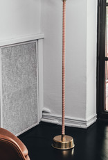 Senator floor light by Lisa Johansson-Papeand   Graphite grey