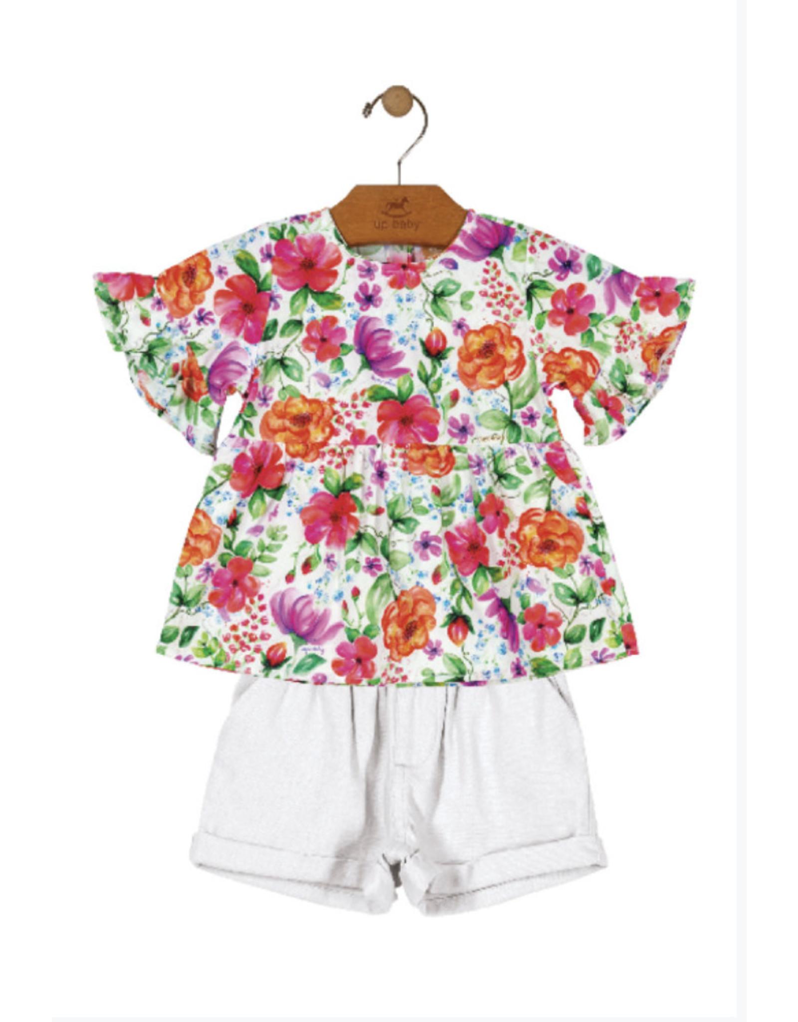 Floral short sets - Lola Kids
