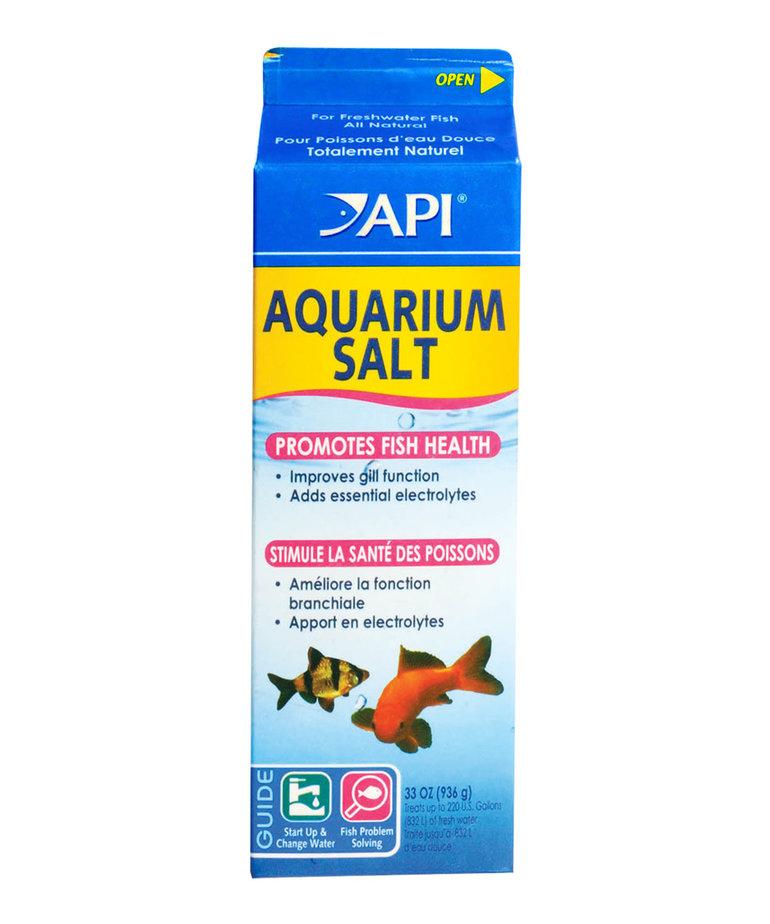 API Aquarium Salt - 33 oz