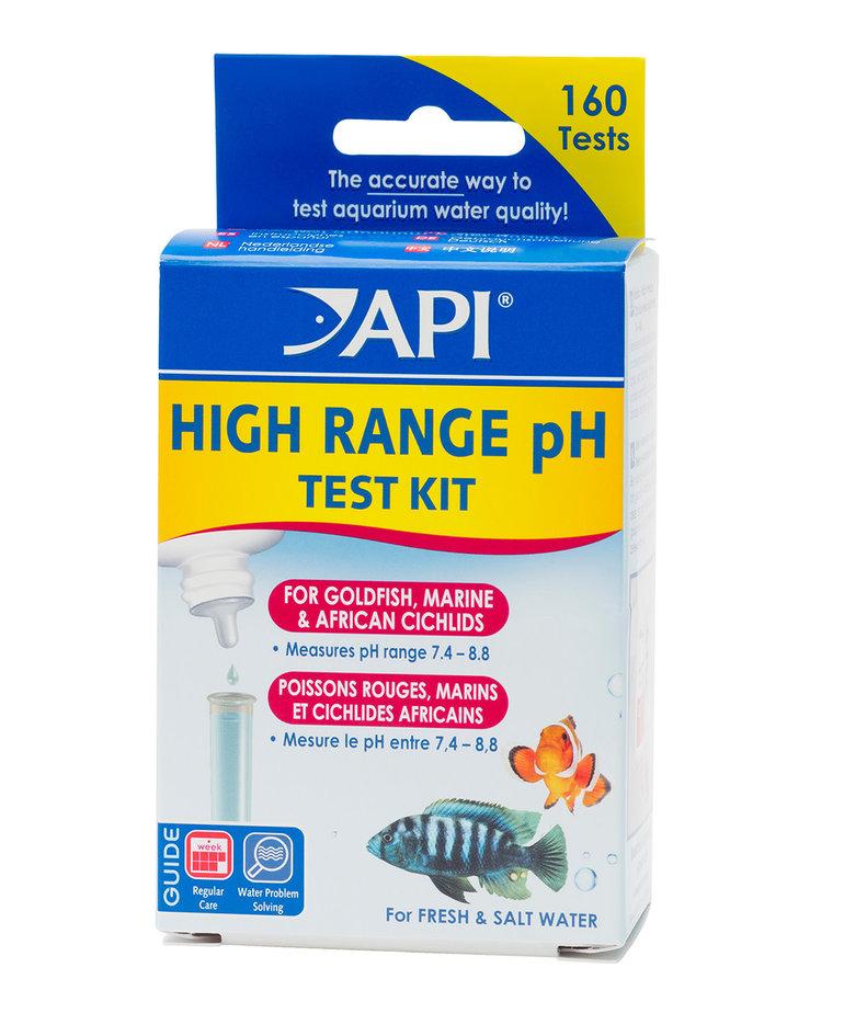 API High Range pH Test Kit - Freshwater/Saltwater