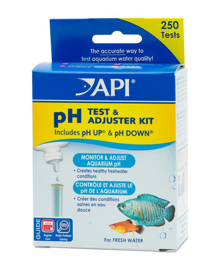 API pH Test & Adjuster Kit - Freshwater