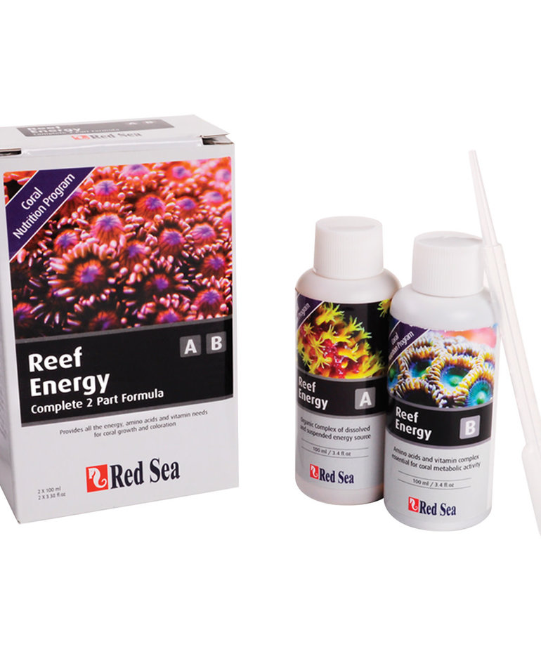 Red Sea Red Sea Reef Energy A & B Coral Nutrition Program Kit - 100 ml