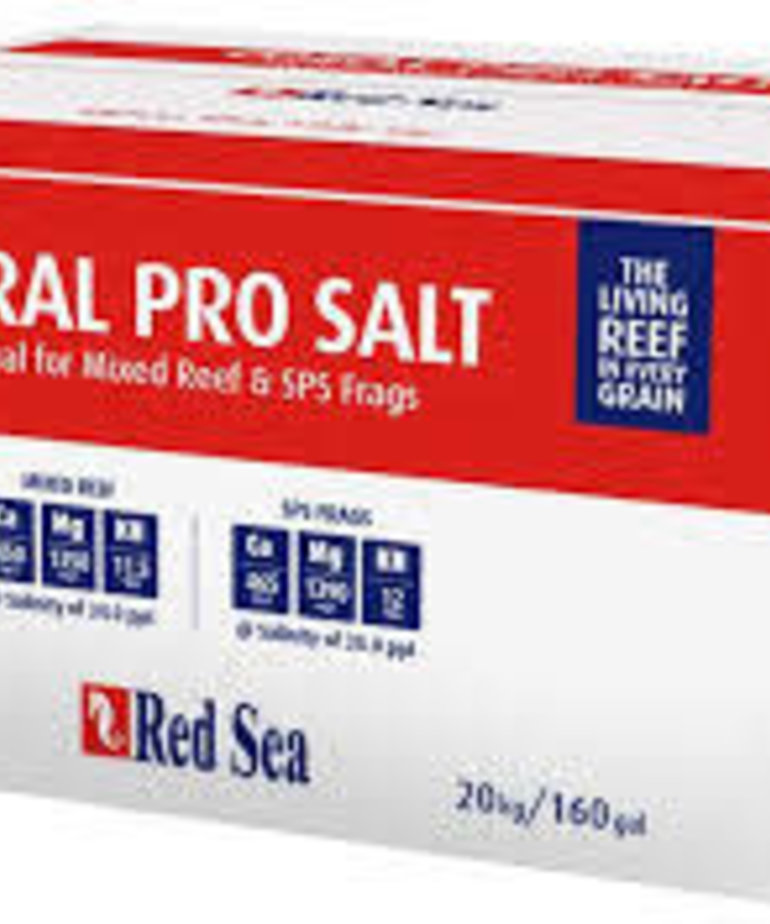 Red Sea RED SEA Coral Pro Salt 160 gal (Box)