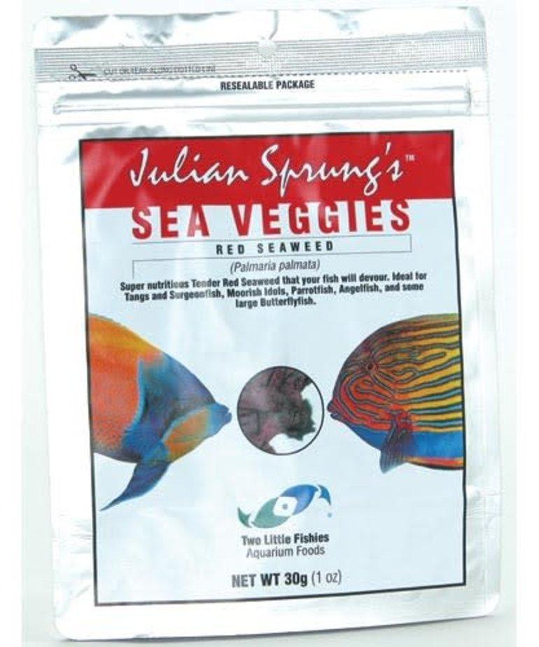 TWO LITTLE FISHIES Julian Sprung's SeaVeggies Seaweed - Red - 30 g