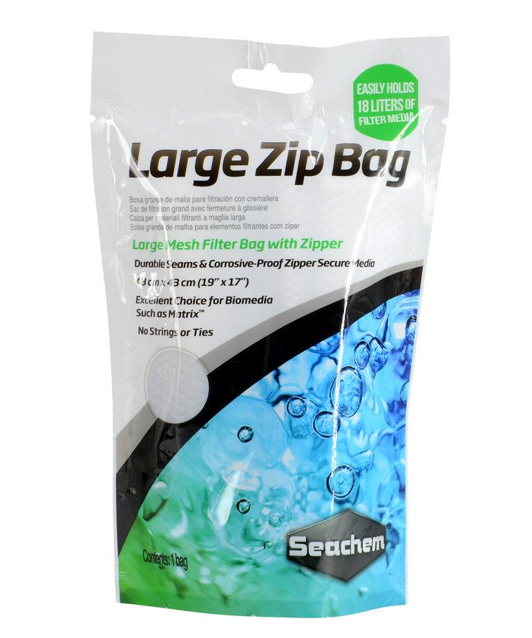 """Seachem SEACHEM Zip Bag - 19"""" x 17"""""""
