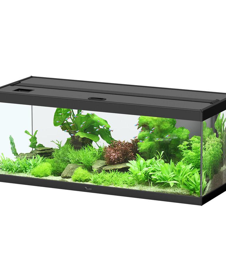 "AQUATLANTIS Style LED 100 Aquarium - (Black) - 39.25"" x 15.75"" x 15.75"" - 32.5 gal"