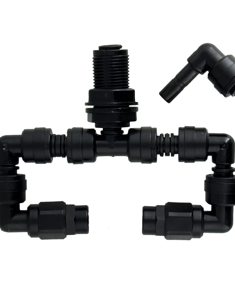 Mistking MISTKING Double Misting Assembly - Value T-Fitting