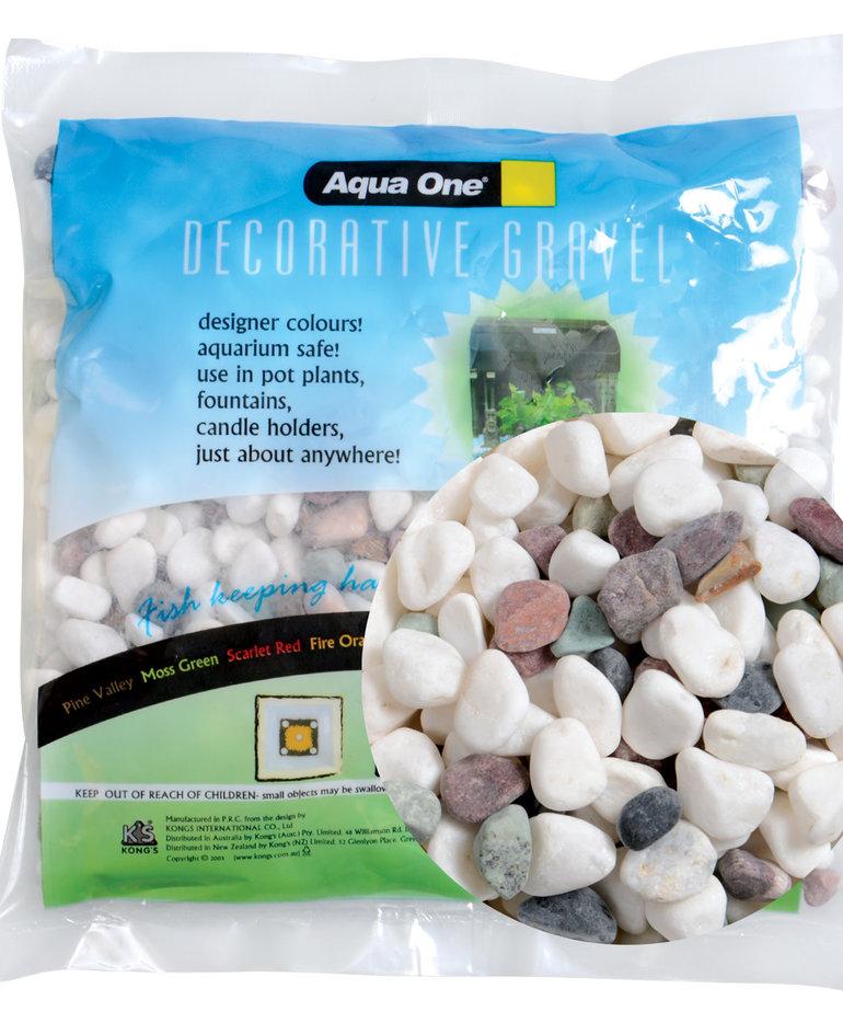 AQUA ONE Decorative Gravel - Carnival - 500 g