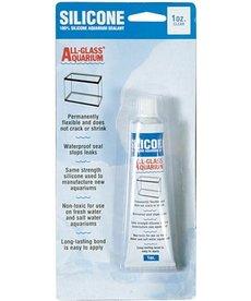 AQUEON Silicone Aquarium Sealant - Clear 1 oz