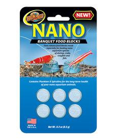 ZOO MED Nano Banquet Food Blocks - 6 pk