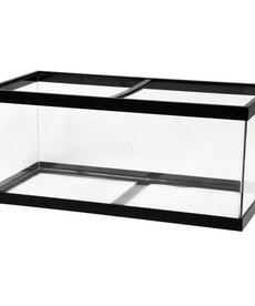 AQUEON Standard Aquarium - Black Frame - 55 gal - Clear Silicone