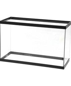 AQUEON Standard Aquarium - Black Frame - 29 gal - Clear Silicone