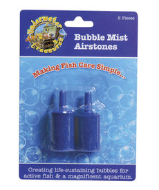 UNDERWATER TREASURES Bubble Mist Airstone - Cylindrical 2 pk