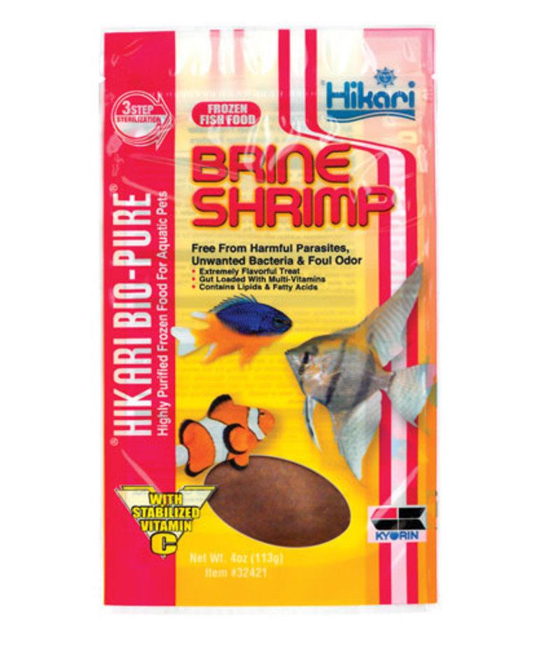 Hikari Bio-pure HIKARI BIO-PURE Frozen Brine Shrimp - Flatpack - 4 oz