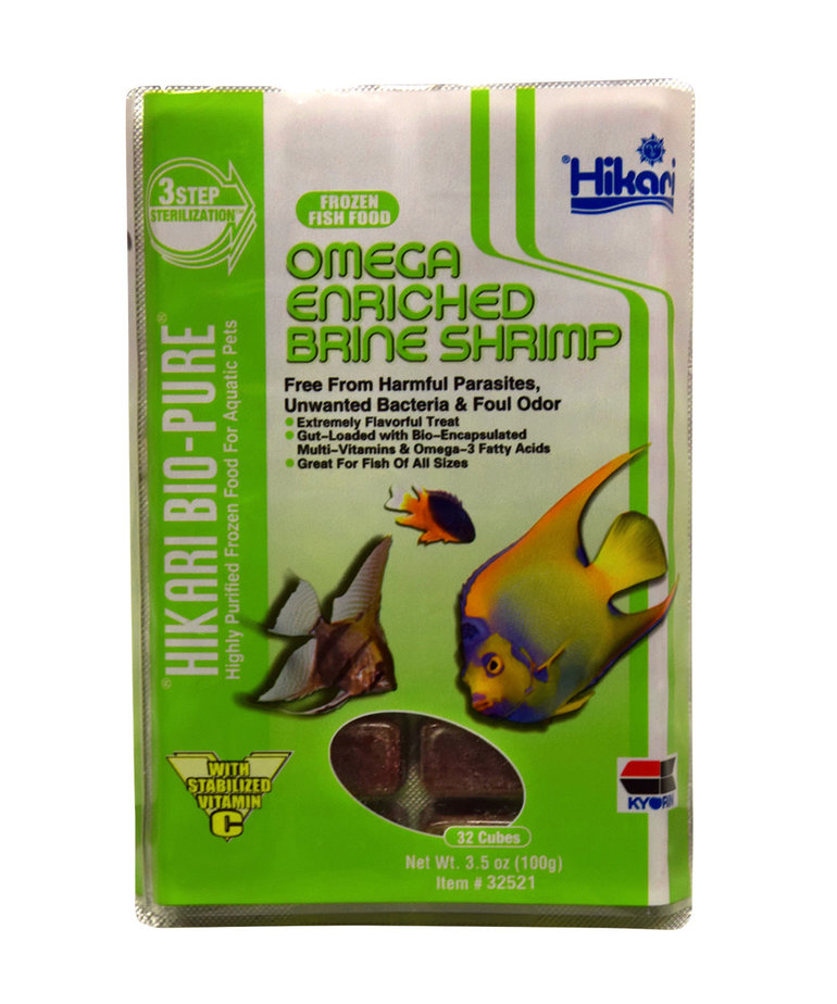 Hikari HIKARI Frozen Omega Enriched Brine Shrimp - 3.5 oz