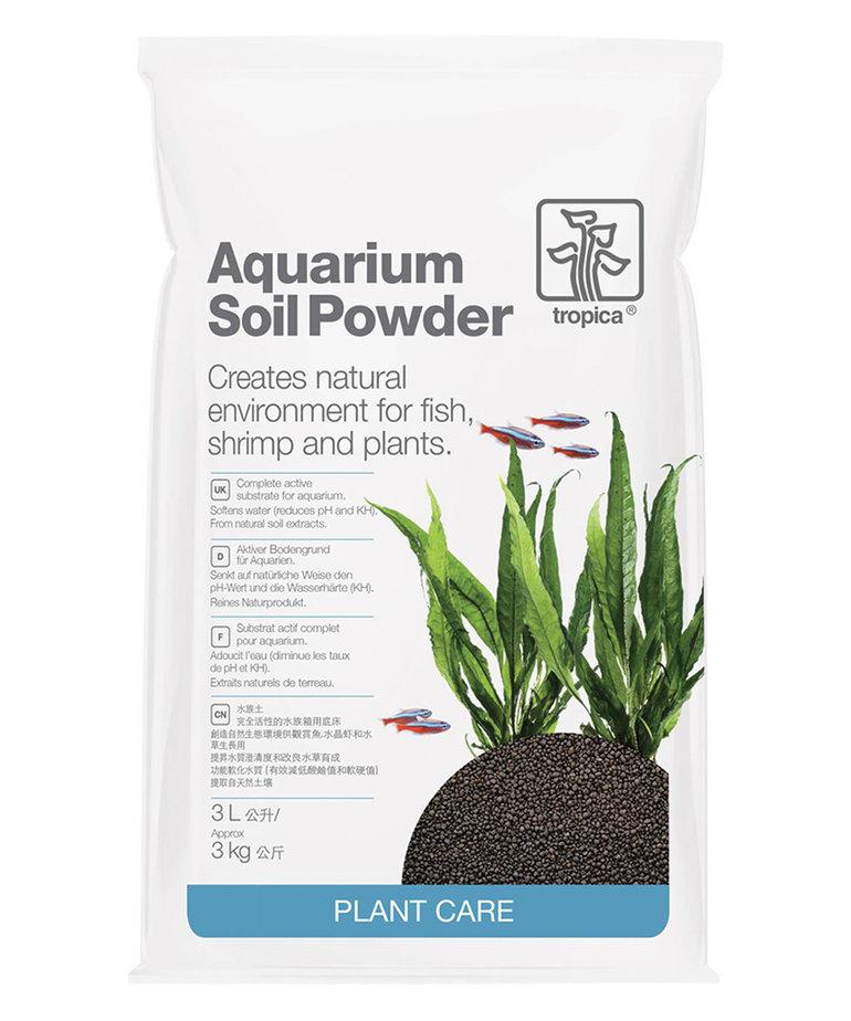 TROPICA Aquarium Soil Powder - 3 kg