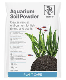 TROPICA Aquarium Soil Powder - 9 kg