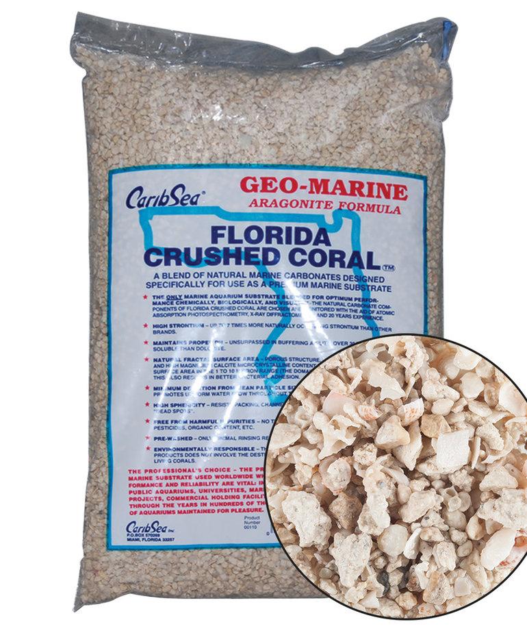CARIBSEA Geo-Marine Florida Crushed Coral 10 lb