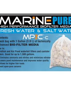 Marine Pure MARINE PURE CerMedia BioFilter Media MP2C-c