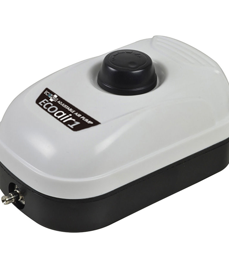 Ecoplus ECOPLUSEco Air 1 Adjustable Air Pump - Single Outlet - 2 W - 44 gph