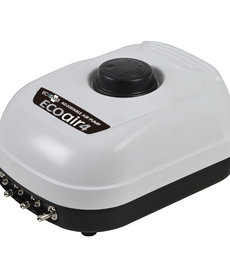 ECOPLUS Eco Air 4 Adjustable Air Pump - 4 Outlet - 6.5 W - 253 gph
