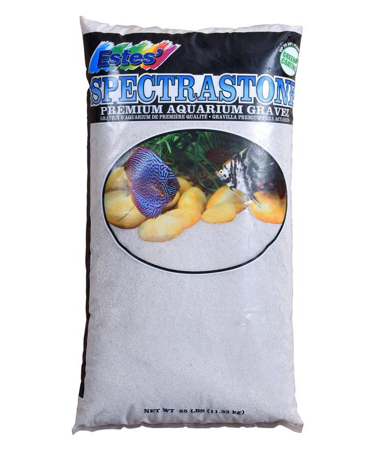 ESTES Stoney River Premium Aquarium Sand 25-lbs -White
