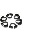 """TWO LITTLE FISHIES Ratchet Clip Plastic Hose Clamp Set - 1/2"""" - 6 pk"""