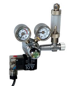 ISTA CO2 Controller with Solenoid, + Bubble Counter & Check Valve