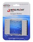 GULFSTREAM TROPICAL Replacement Scrapers for Mag-Float Scrape - 2 pk