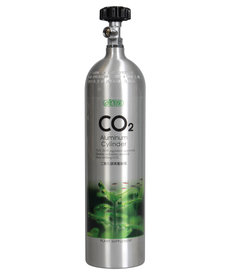 ISTA CO2 Aluminum Cylinder - 3L - Face Side