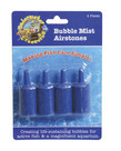 UNDERWATER TREASURES Bubble Mist Airstone - Cylindrical 4 pk