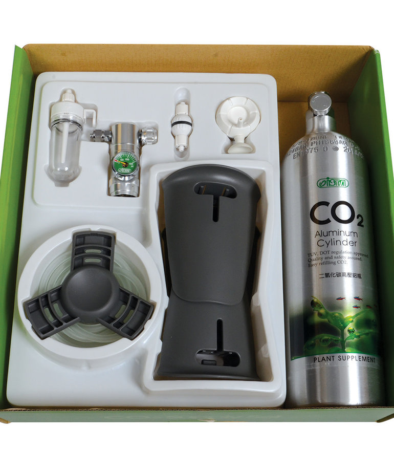 ISTA CO2 Aluminum Cylinder Set - Pressure Reduced