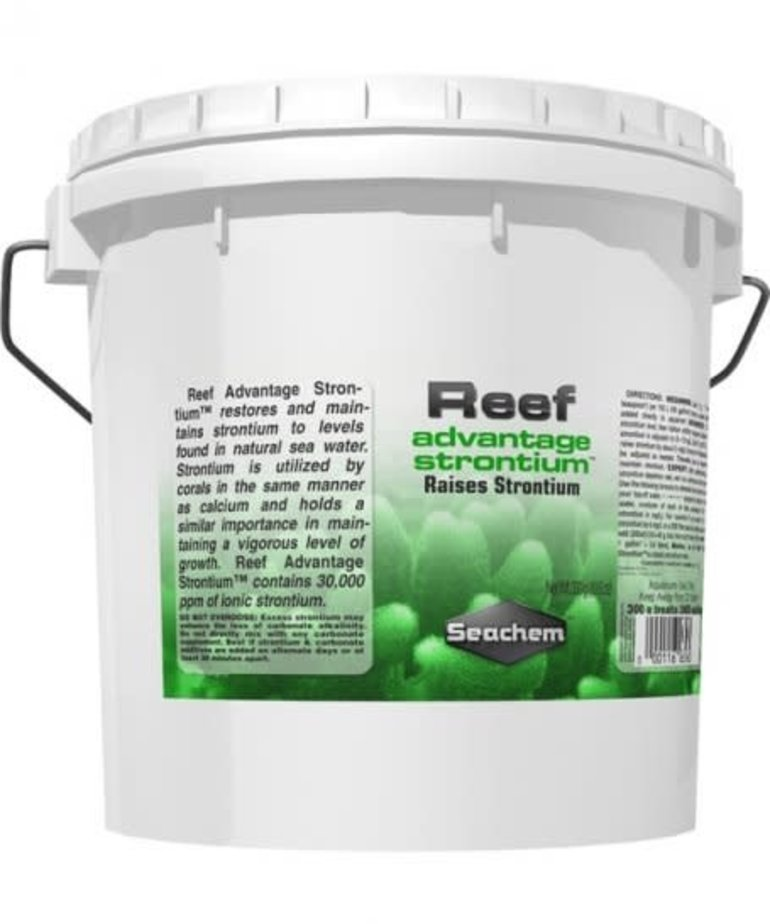 Seachem SEACHEM Reef advantage Strontium 4kg