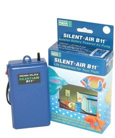 Penn Plax PENN PLAX Silent Air Battery Operated Air Pump - B11