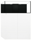 Waterbox WATERBOX AQUARIUMS Frag 85.3 Blanc