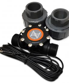 "Neptune systeme NEPTUNE Flow Sensor - 1"" with Unions"